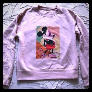 Andy Warhol X Mickey X Uniqlo sweatshirt